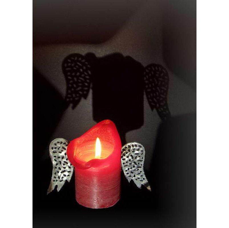 RC020 Kerzenengelschatten